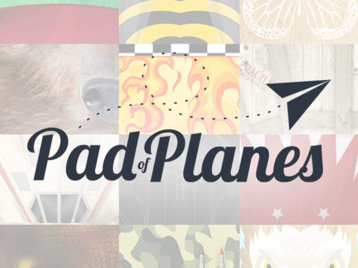 Pad of Planes Branding