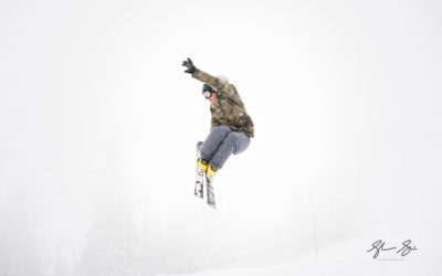 Ski Jumpers – Utah Ski Photographer